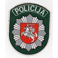 Наклейка Полиция Литва