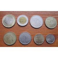 Венгрия. Набор монет.