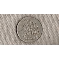 Новая Зеландия 50 больших центов 1967 /корабль//(JJ)