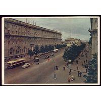 1959 год Минск Проспект им.Сталина