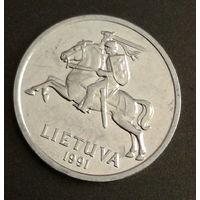 1  centas 1991 Литва