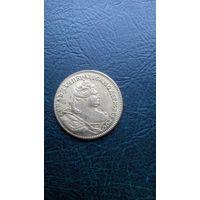 Анна Иоановна, копия золотой монеты без номинала