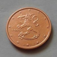 2 евроцента, Финляндия 2005 г., AU