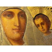 Икона Тихвинская, 19 век.