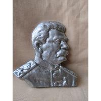 Барельеф И.В. Сталина, тяжёлый металл