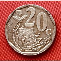 18-21 ЮАР, 20 центов 2008 г.