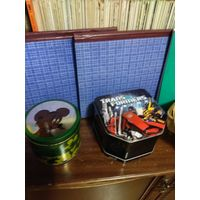 Коробки банки для хранения мелких и насыпных вещей