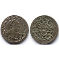 6 грошей (шостак) 1681 TLB, Ян III Собесский, Быдгощ. Ав: портрет в античной тоге