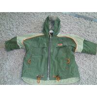 Куртка детская зелёная лёгкая БЕСПЛАТНО ВТОРОЙ товар (одежда-обувь)  на выбор!