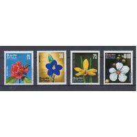 [1534] Шри-Ланка 1976. Флора.Цветы.