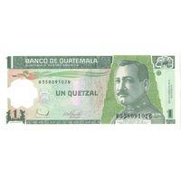 YS: Гватемала, 1 кетсаль 2006, P# 109, пластик, UNC