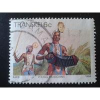 Транскей, анклав ЮАР 1984 гармонист