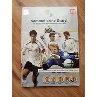 Футбол Германия Альбом - жетоны со звездами