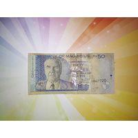 Маврикий 50 рупий 2001г