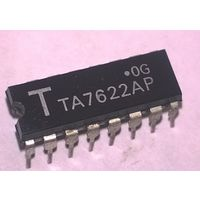 TA7622AP. Микросхема. Bipolar Linear Integrated Circuit. TA7622A TA7622P TA7622