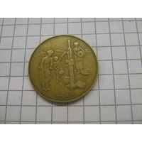 Западная Африка 10 франков 1986г. ФАО не частый год