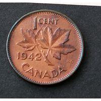 1 цент Канада 1942