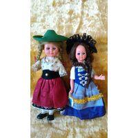 Куклы в национальной одежде, одним лотом