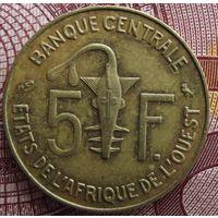 5 франков 1973