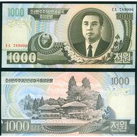 Сев. Корея 1000 вон 2006 UNC