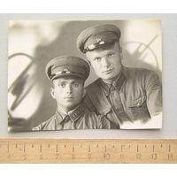 Фотография бойцы РККА 1940 год