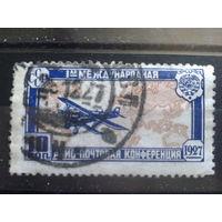 1927 самолет Туполев АНТ-3 Михель-8,0 евро гаш