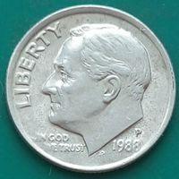 10 центов 1988 Р США