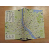 Карта (план) Риги
