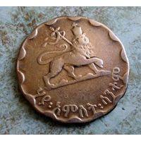 Эфиопия. 25 центов 1944 г.
