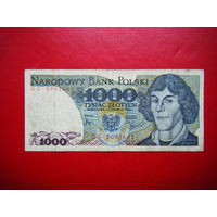 1000 злотых 1982г.