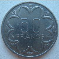 Центральная Африка 50 франков 1986 г. E - Камерун