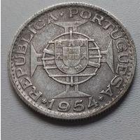 Мозамбик 10 эскудо 1954 г.