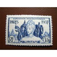 Мавритания 1937 Франция