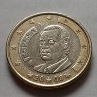 1 евро, Испания 2008 г.