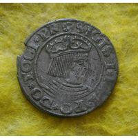 1 грош 1531 г Гданьск Редкая Отличная