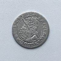 Монета Орт 1/4 талера 1698 г. (Пруссия) Фридрих Вильгельм РЕДКИЙ Идеальный