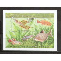 Уганда 1990 Фауна Рыбы
