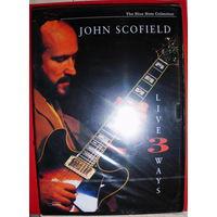 "Original DVD!!! John Scofield ""Live 3 Ways"" 2005"