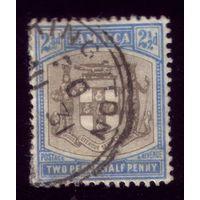 1 марка 1905 год Ямайка 45