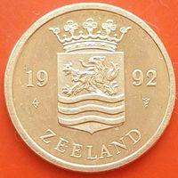 ЗЕЕЛАНДИЯ.Монетный двор 1992 г