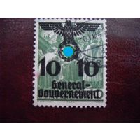 DR-GG. Рейх 1938\40 Mi.21 Генерал-губернаторство