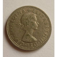 Англия 6 пенсов 1965г.