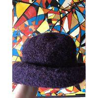 Шляпа букле шапка шерсть 56