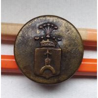 Пуговица ливрейная герба Drogoslaw
