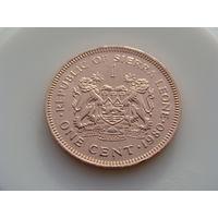 Сьерра-Леоне. 1 цент 1980 год KM#32