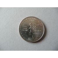 Квотер 25 центов США.Нью Хемпшир (1)