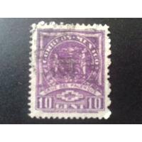 Мексика 1937 стандарт 10 с
