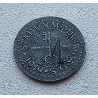 Германия,нотгельд Naumburg 10 пфеннигов 1919 4-6-11