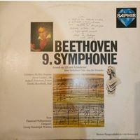 L. V. Beethoven /9 Symphonie/1977,Saphir, Germany, LP, EX
