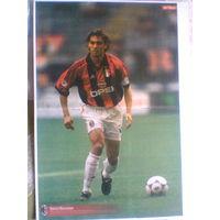 Постер Паоло Мальдини-Милан Италия-формат А3